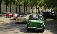 The Legendary Fiat 500 Tour Upgrade with Wine and Typical Products Tasting