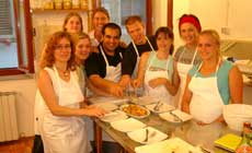 Tuscan Cooking Class with Dinner in a Old Palace in the Heart of Florence